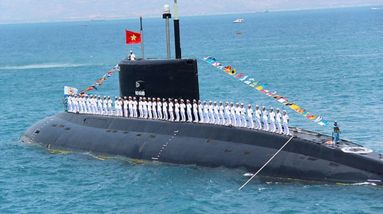 Tàu ngầm Kilo của Việt Nam