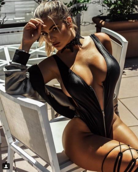 Siêu mẫu Nga nóng bỏng thách thức Kim Kardashian ảnh 9