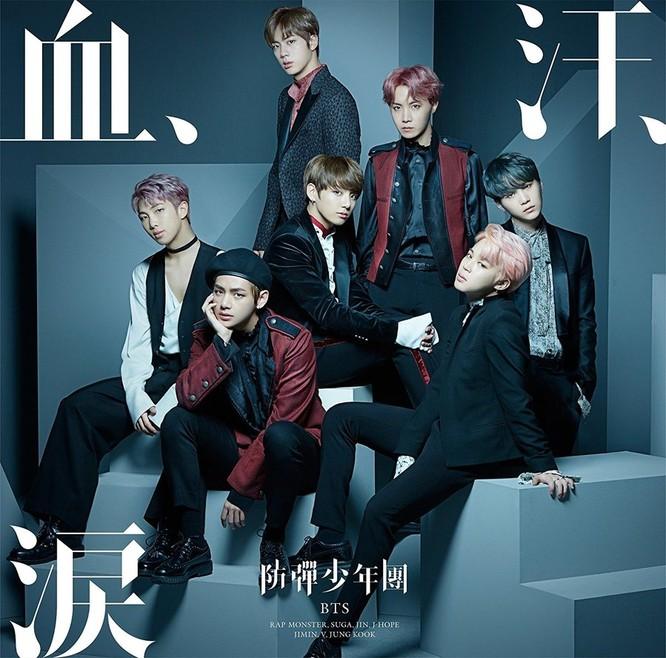 """BTS gửi album """"Love Yourself"""" version Nhật đến Billboard và xuất sắc lọt top 200 ảnh 1"""