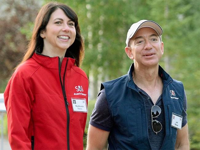 Khám phá cuộc sống của vợ chồng tỷ phú Jeff và MacKenzie Bezos ảnh 10