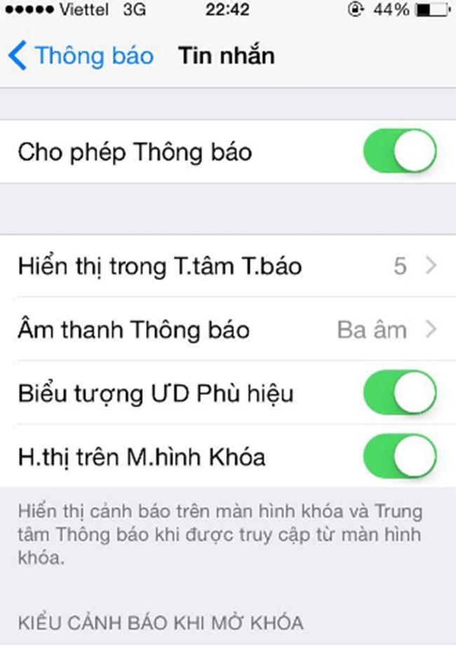 5 mẹo bảo mật tin nhắn dành cho iPhone của bạn ảnh 1
