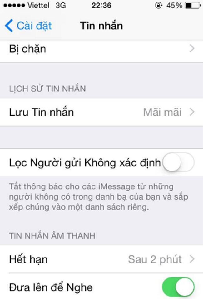 5 mẹo bảo mật tin nhắn dành cho iPhone của bạn ảnh 4