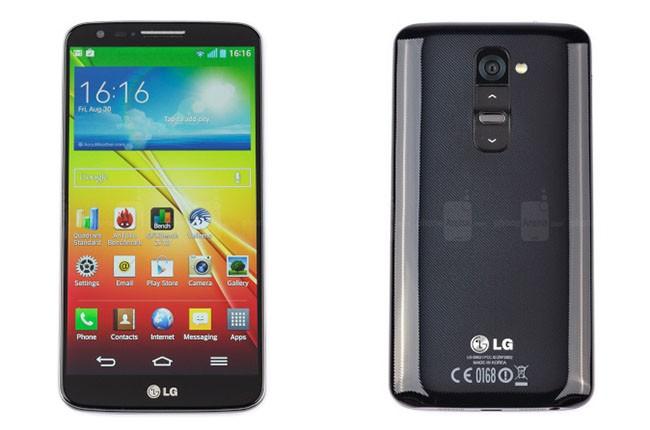 Ngược chiều kim đồng hồ: Sự phát triển dòng G của LG ảnh 2