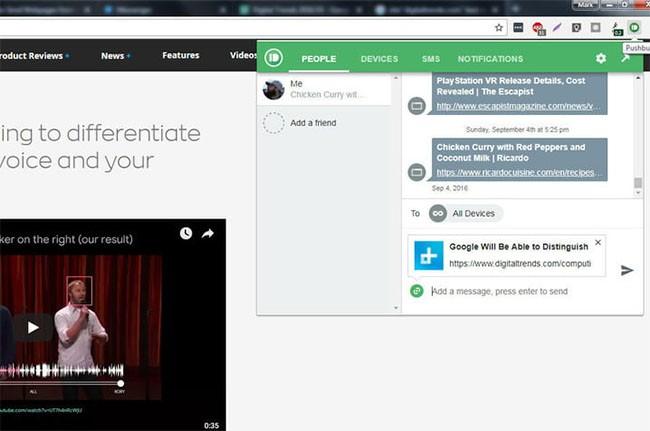 Cách chuyển đường link các trang web từ Google Chrome trên PC sang smartphone Android ảnh 4