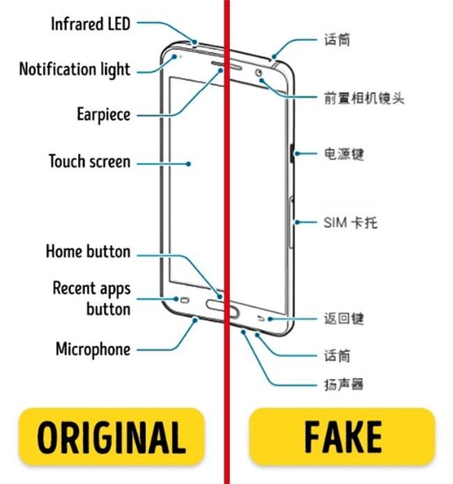 """6 mẹo giúp bạn dễ dàng phân biệt các thiết bị công nghệ """"nhái hàng"""" ảnh 2"""