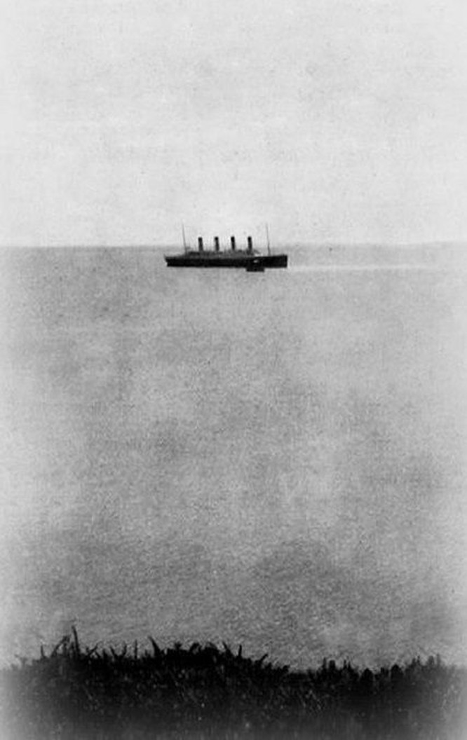 The last photograph of the Titanic afloat, 1912