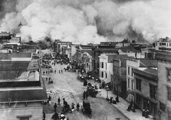 1906 San Francisco Earthquake and Fire