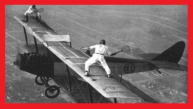 Plane Wing Tennis
