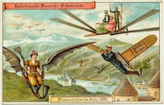 Futuristic Postcards