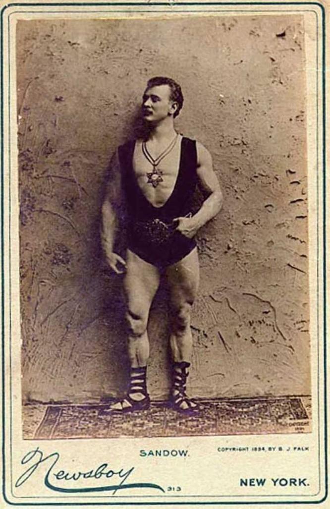First Bodybuilders