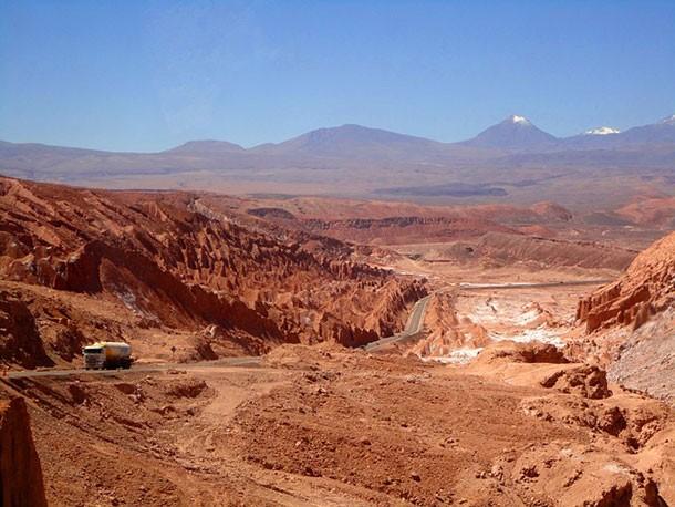 Bộ xương được tìm thấy ở Atacama