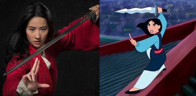 Dù không được gắn nhãn phim kiếm hiệp, Mulan vẫn có đặc trưng của thể loại này qua một loạt cảnh võ thuật của các anh hùng Trung Quốc cổ đại.