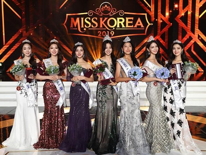Hoa hậu và 6 Á hậu Hàn Quốc 2019