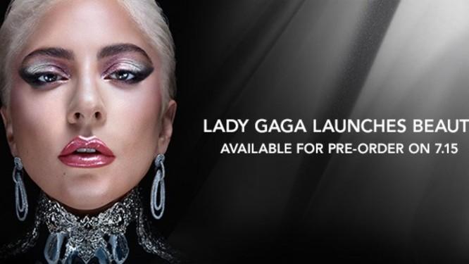 Dòng mỹ phẩm của Lady Gaga sẽ hoạt động vào ngày 15/7