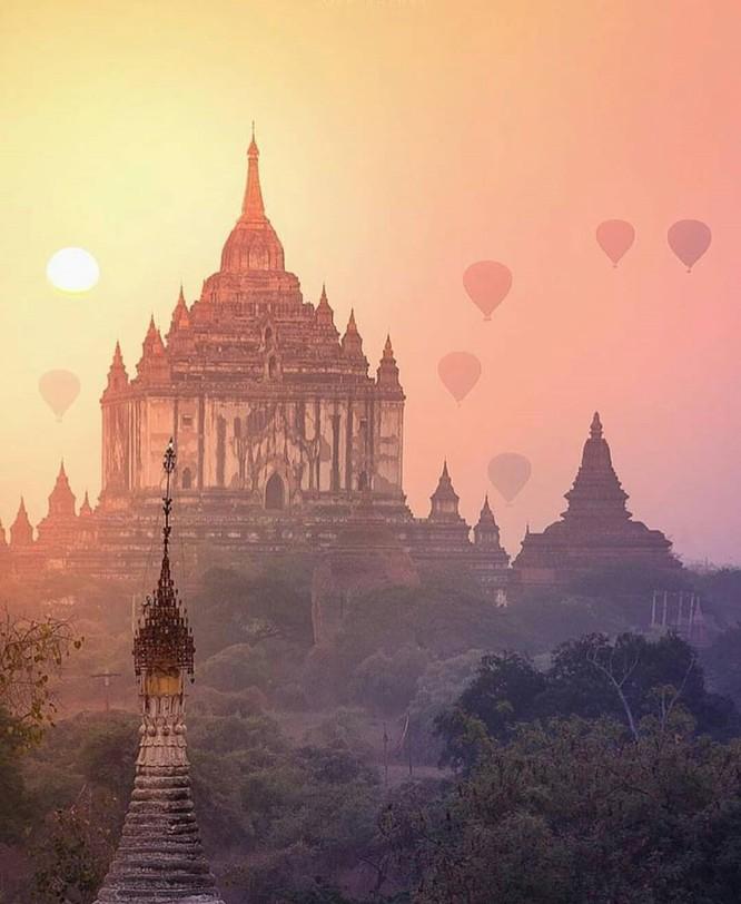 Bagan vừa được UNESCO công nhận là Di sản thế giới vào 6/7