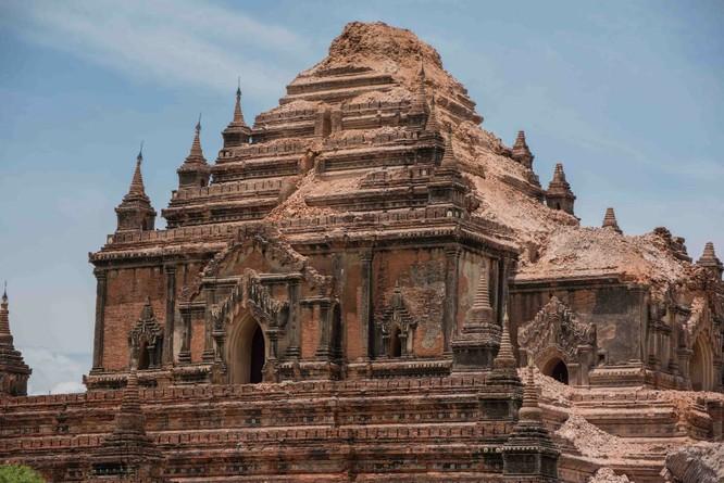 Nhiều di tích tại Bagan phải tu bổ lại do thiên tai, động đất
