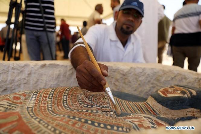 """Ai Cập mở thêm khu di tích """"Kim tự tháp Bent"""" cổ xưa cho du khách ảnh 4"""