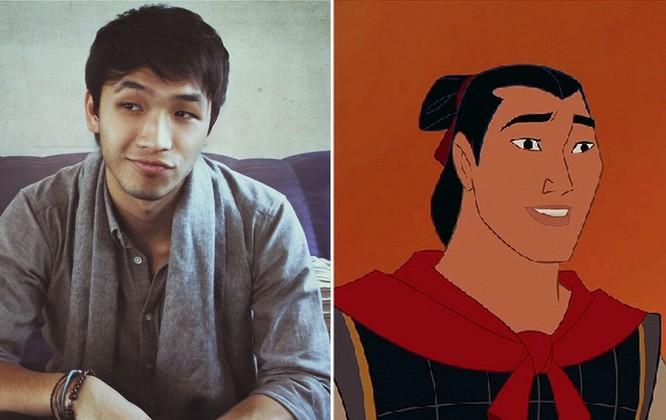 Dương Tiểu An trong vai Trần Hồng Huy, người yêu Mộc Lan