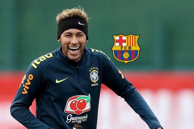 Neymar Jr ở vị trí số 9