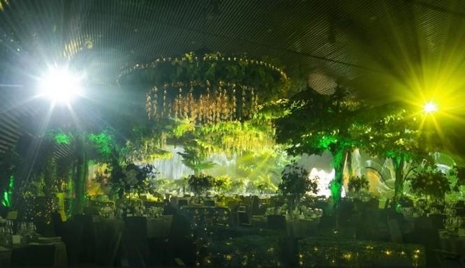 Toàn cảnh đám cưới triệu đô của Đàm Thu Trang và Cường Đô La ảnh 5