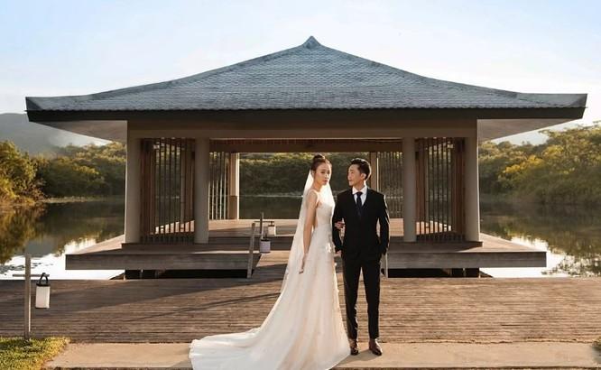 Toàn cảnh đám cưới triệu đô của Đàm Thu Trang và Cường Đô La ảnh 14