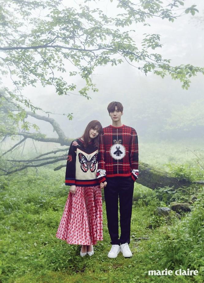 Goo Hye Sun và Ahn Jae Hyun gặp nhau khi Goo Hye Sun đã là một cái tên nổi nổi tiếng trong giới giải trí Hàn, sau vai diễn thành công trong bộ phim