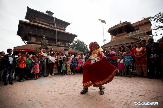 Khám phá vẻ đẹp văn hóa Nepal qua lễ hội Bagh Bhairav ảnh 5