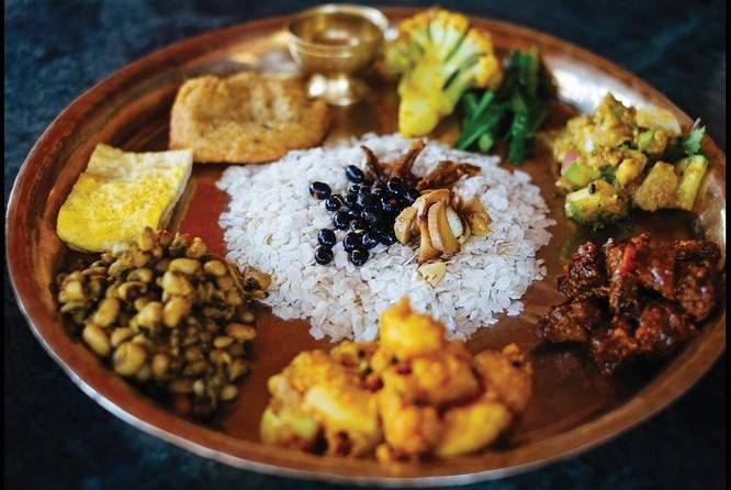 Đồ ăn Nepal khá đơn giản và chịu nhiều ảnh hưởng của ẩm thực Trung Quốc và Ấn Độ. Ảnh: Xinhua