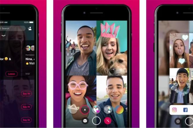 Facebook đang bí mật thử nghiệm ứng dụng chat video Bonfire ảnh 1