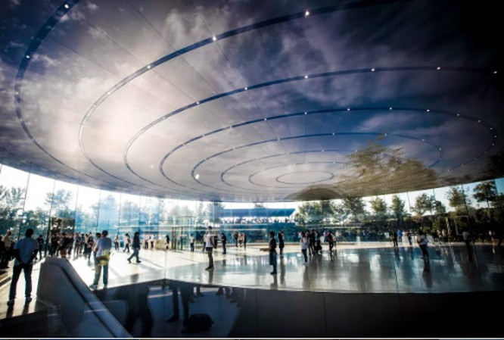 Choáng ngợp trước khuôn viên làm việc mới của Apple – Apple Park ảnh 1
