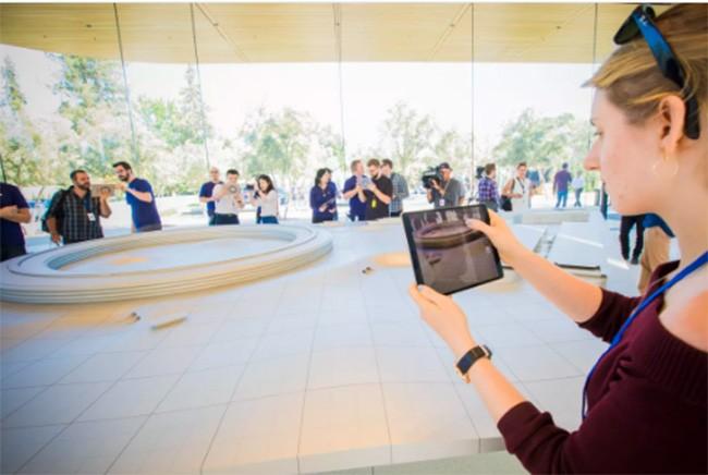 Choáng ngợp trước khuôn viên làm việc mới của Apple – Apple Park ảnh 4