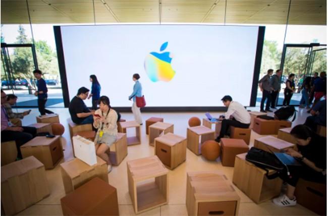 Choáng ngợp trước khuôn viên làm việc mới của Apple – Apple Park ảnh 5