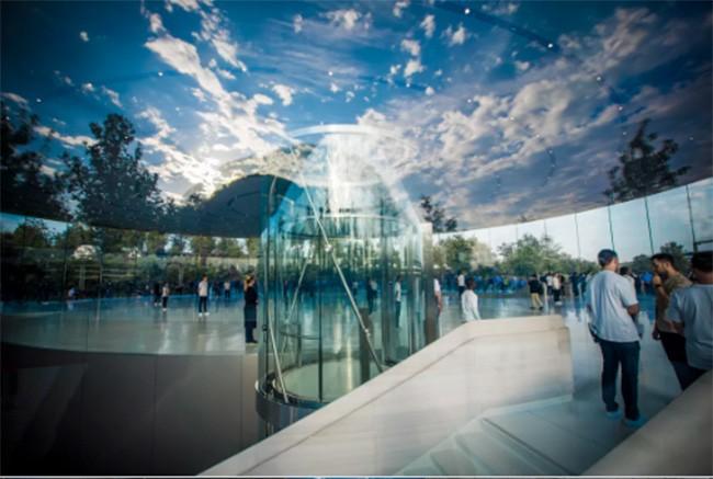 Choáng ngợp trước khuôn viên làm việc mới của Apple – Apple Park ảnh 12