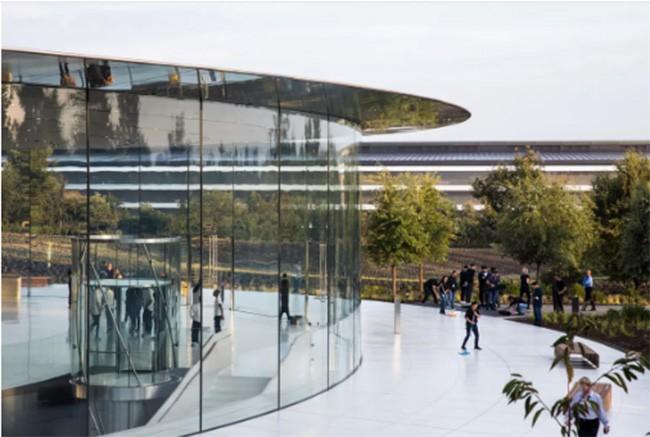 Choáng ngợp trước khuôn viên làm việc mới của Apple – Apple Park ảnh 8