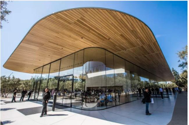 Choáng ngợp trước khuôn viên làm việc mới của Apple – Apple Park ảnh 6