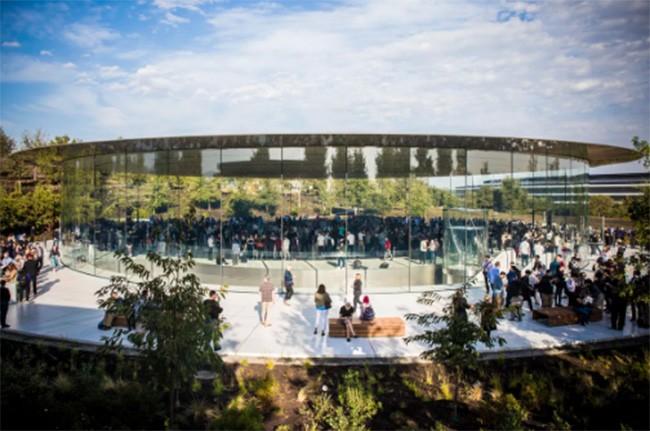 Choáng ngợp trước khuôn viên làm việc mới của Apple – Apple Park ảnh 7