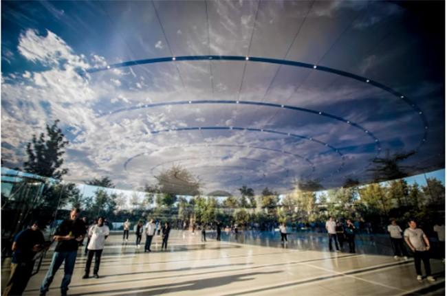 Choáng ngợp trước khuôn viên làm việc mới của Apple – Apple Park ảnh 10