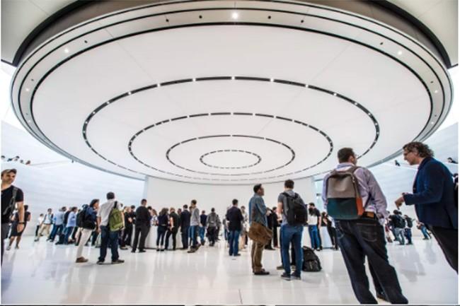 Choáng ngợp trước khuôn viên làm việc mới của Apple – Apple Park ảnh 20
