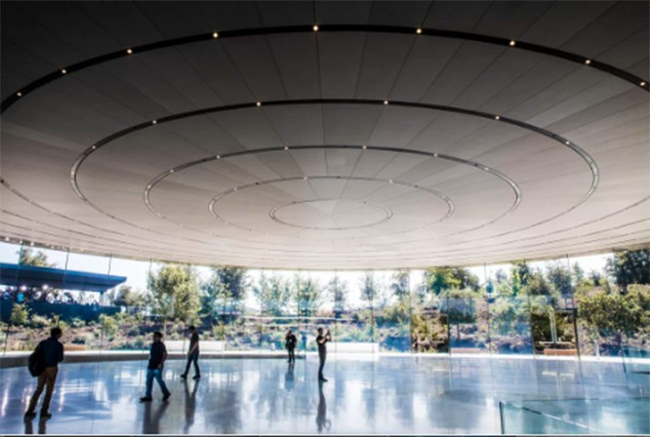 Choáng ngợp trước khuôn viên làm việc mới của Apple – Apple Park ảnh 11