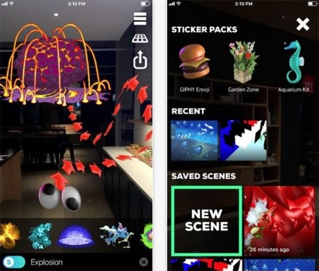 Top 10 ứng dụng AR cực cool không thể bỏ qua trên ARKit iOS 11 ảnh 1