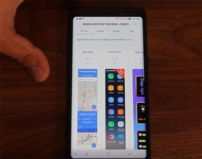 5 mẹo cần biết để xài màn hình cong trên Galaxy Note 8 đẳng cấp hơn ảnh 4