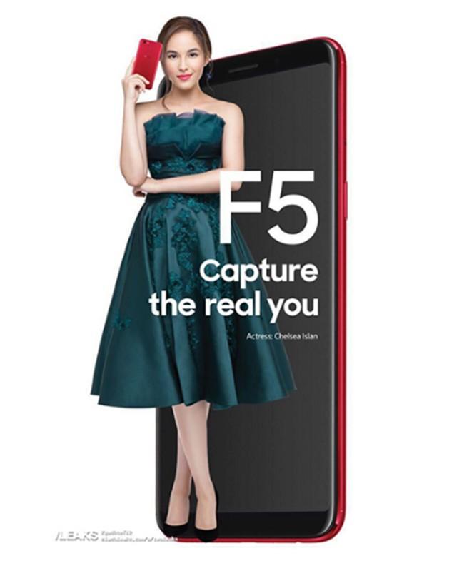 Lộ diện Oppo F5 viền màn hình siêu mỏng tỉ lệ 18:9 cùng thiết kế kim loại nguyên khối ảnh 1