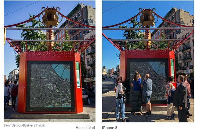 So sánh đẳng cấp chụp hình giữa máy ảnh 9000 USD và iPhone 8 Plus ảnh 2