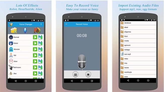 Top 5 ứng dụng chuyển đổi giọng nói cực nhí nhố ảnh 1