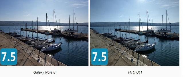"""So sánh camera """"thần thánh"""" của Galaxy Note 8, LG V30, HTC U11 và iPhone 8 Plus ảnh 1"""