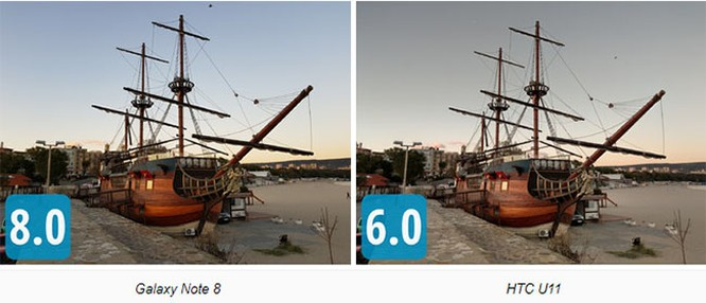 """So sánh camera """"thần thánh"""" của Galaxy Note 8, LG V30, HTC U11 và iPhone 8 Plus ảnh 10"""