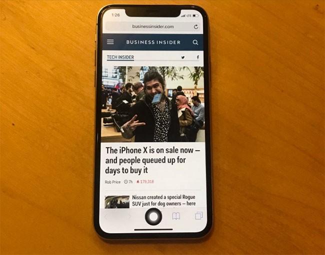 Làm thế nào để tạo nút Home ảo trên iPhone X? ảnh 5