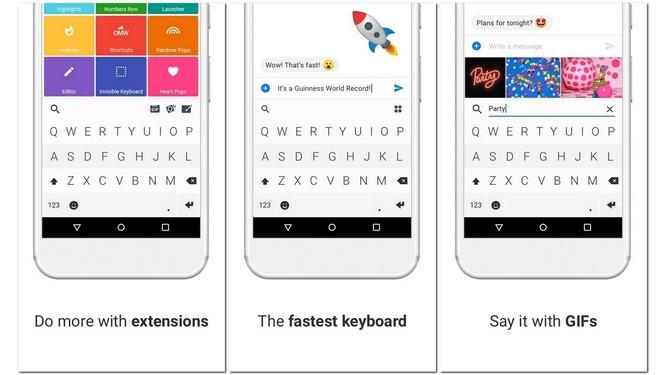 """""""Phẫu thuật thẩm mỹ"""" smartphone Android với các ứng dụng Fleksy, Nova và TrueCaller ảnh 1"""