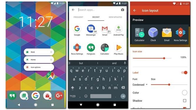 """""""Phẫu thuật thẩm mỹ"""" smartphone Android với các ứng dụng Fleksy, Nova và TrueCaller ảnh 5"""
