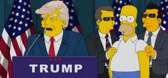 """Nổi da gà với lời tiên tri chính xác đến bất ngờ của bộ phim hoạt hình """"The Simptons"""" ảnh 1"""